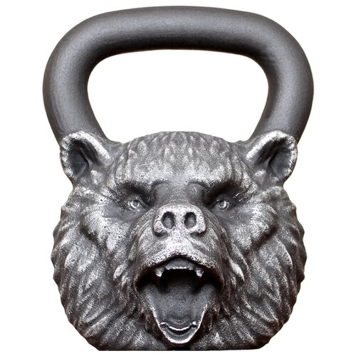 Гиря цельнолитая Iron Head Медведь 32 кг