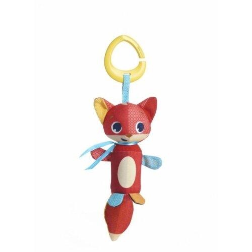 Купить Подвесная игрушка Tiny Love Лисенок-колокольчик Кристофер (1113801110) оранжевый/желтый/голубой, Подвески
