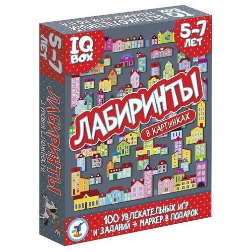 Купить Настольная игра Дрофа-Медиа IQ Box. Лабиринты. 5-7 лет, Настольные игры