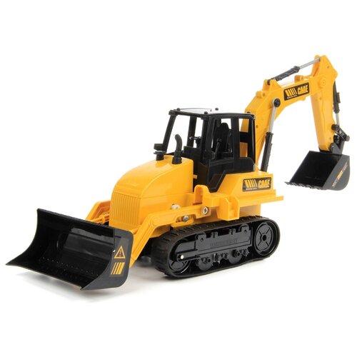 Купить Экскаватор DRIFT 83584 1:16 46 см желтый/черный, Радиоуправляемые игрушки