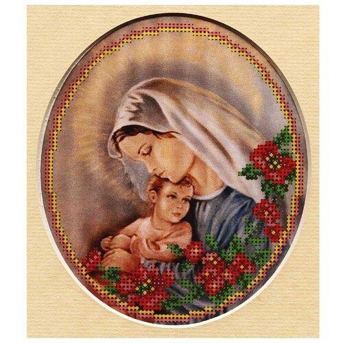 Купить 24/БП Набор для вышивания бисером и паспарту 'Матренин посад' 'Мать и дитя', 27*24 см, Матрёнин Посад, Наборы для вышивания