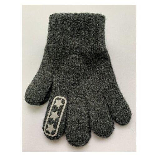 Перчатки Margot Bis размер 14, темно-серый серьги kameo bis kameo bis mp002xw021vs