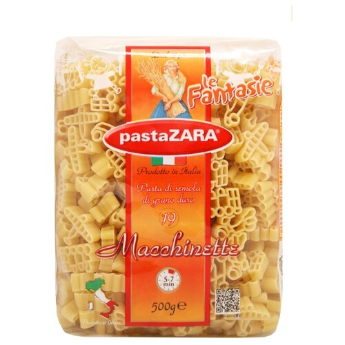 Pasta Zara Макароны le Fantasie 019 Macchinette, 500 г zara larsson zara larsson so good 2 lp