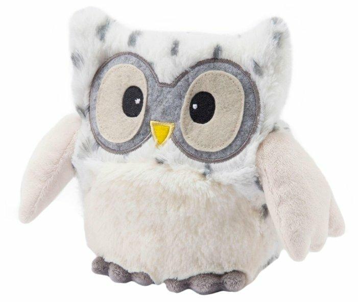 Игрушка-грелка Warmies Hooty Совёнок снежный 22 см