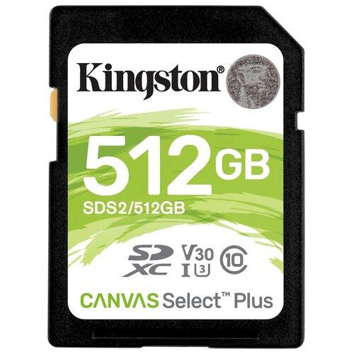 Фото - Карта памяти Kingston SDS2/512GB карта памяти kingston sdcs2 512gb