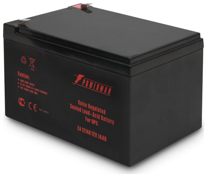 Аккумуляторная батарея Powerman CA12140 14 А·ч
