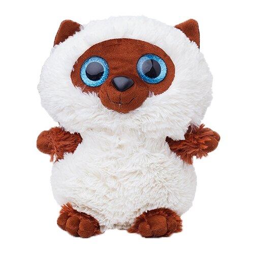 Купить Мягкая игрушка СмолТойс Котенок глазастик 35 см, Мягкие игрушки