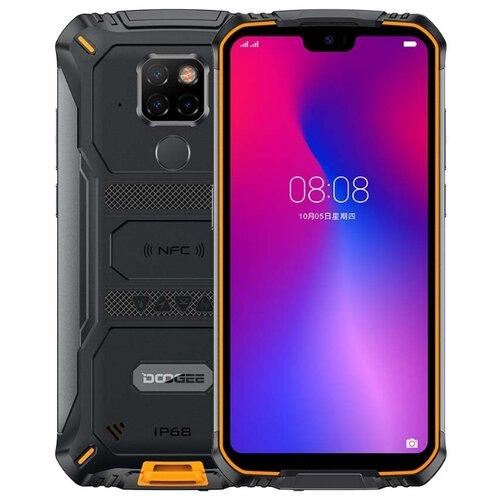 Смартфон DOOGEE S68 Pro черный / оранжевый смартфон doogee x11 1 8gb черный