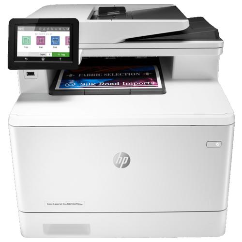 Фото - МФУ HP Color LaserJet Pro MFP M479fnw белый 17 3 ноутбук hp envy 17 bw0001ur 4hd46ea серебристый