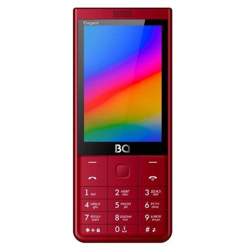 Телефон BQ 3595 Elegant, красный мобильный телефон bq elegant 3595 серый