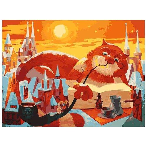 Картина по номерам Вечерняя сказка, 40x50 см