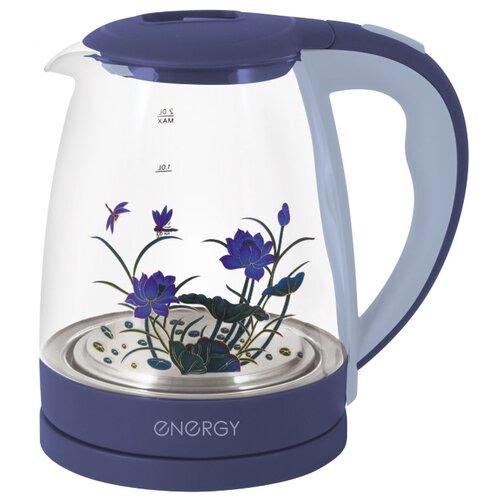 Фото - Чайник Energy E-287, фиолетовый чайник energy e 211 2016 white blue