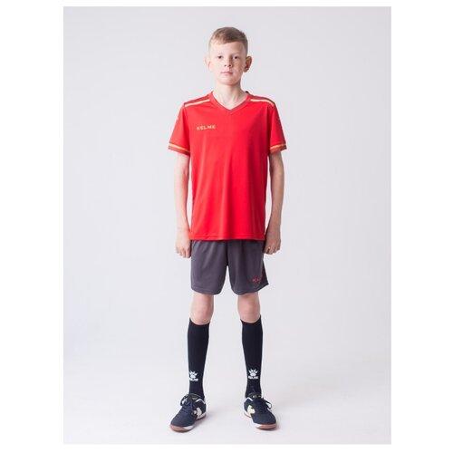 Спортивный костюм Kelme размер 130, красный/темно-серый