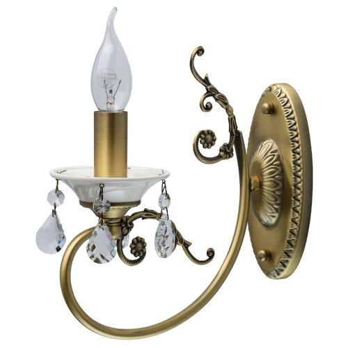 Бра MW-Light Свеча 683022301 настенный светильник mw light свеча 683022301 60 вт