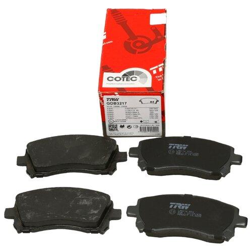 Дисковые тормозные колодки передние TRW GDB3217 для Subaru Forester, Subaru Impreza, Subaru Legacy, Subaru Outback (4 шт.) фото