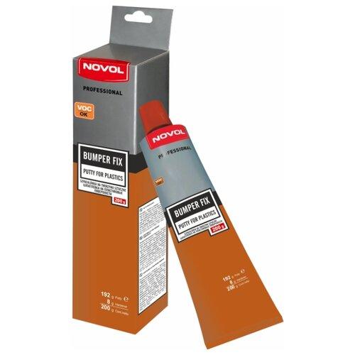 Комплект (шпатлевка, отвердитель) NOVOL BUMPER FIX 0.2 кг