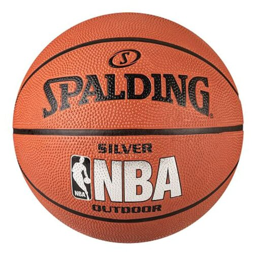 Баскетбольный мяч Spalding NBA Silver, р. 3 оранжевый yzf motorcycle 6mm cnc aluminum swingarm spools stand screws slider for yamaha zf r1 yzfr1 yzf r1 2002 2018 2003 2004 2005 2006