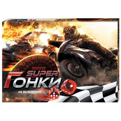 Купить Настольная игра Danko Toys Гонки на выживание, Настольные игры