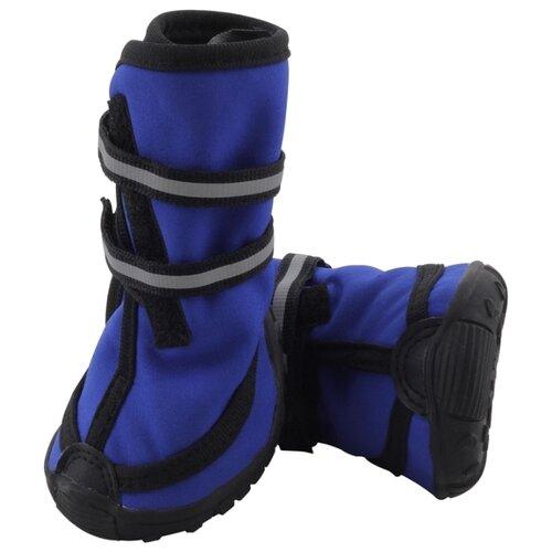 Ботинки для собак Triol 12241092/098 S синий / черный