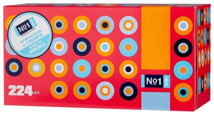 Платочки Bella №1 двухслойные белые в коробке