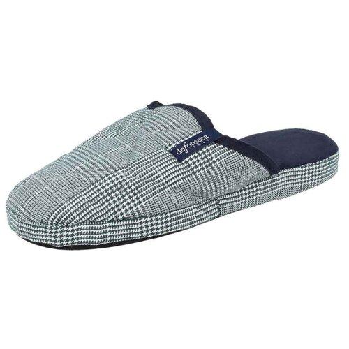 Тапочки Milano M407 De Fonseca серый 40/41 (De Fonseca)Домашняя обувь<br>