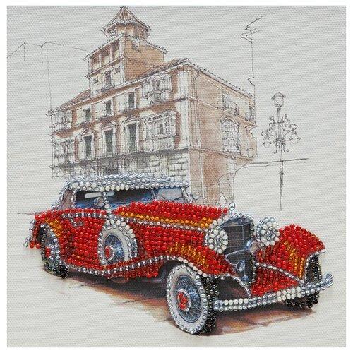 Купить ABRIS ART Набор для вышивания бисером Mersedes-500k 15 х 15 см (AAM-057), Наборы для вышивания