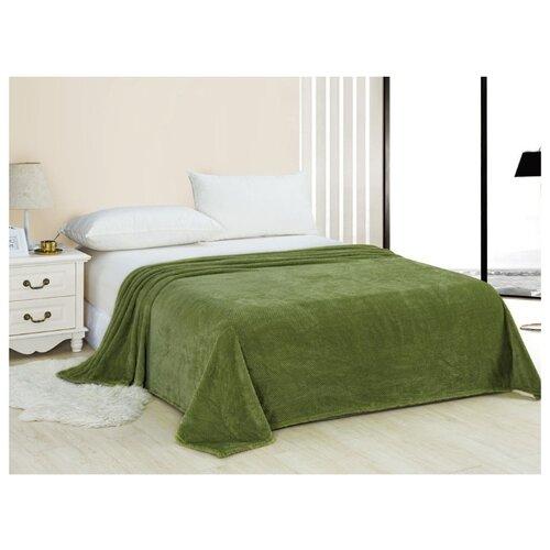 Плед Cleo Pinoli 180х200 см, зеленый халат домашний cleo cleo mp002xm0ycnr