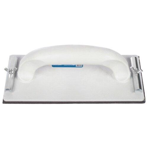 Тёрка для шлифовки полистирола с резиновой накладкой РемоКолор 32-2-005 235x105 мм тёрка для шлифовки штукатурки с губкой ремоколор 20 2 002 270x140 мм
