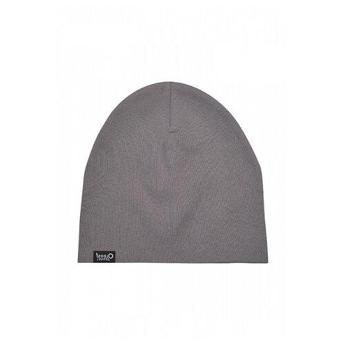 Шапка Oldos размер 54-56, серый шапка ignite цвет серый 018 hiphop stripe размер 54 56