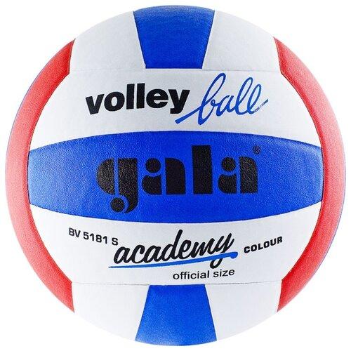 Волейбольный мяч Gala Academy синий/белый/красный