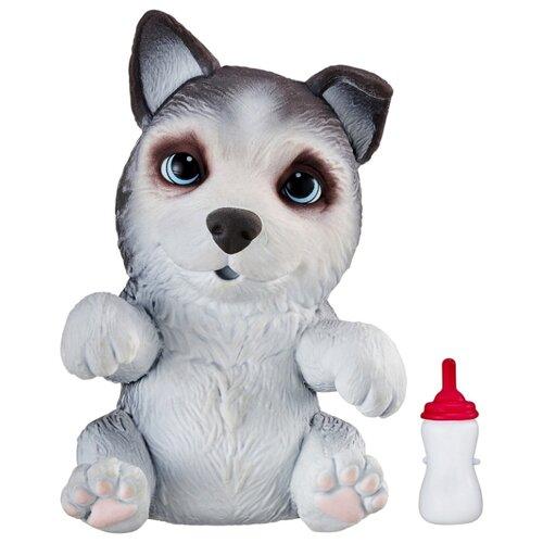 Купить Робот Moose Little Live OMG Pets сквиши-щенок Хаски 28919 белый/серый, Роботы и трансформеры
