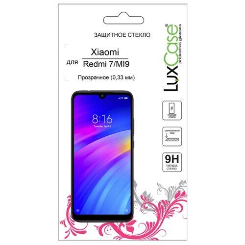 Защитное стекло LuxCase для Xiaomi Redmi 7/Mi 9 прозрачный защитное стекло xiaomi mi max прозрачный