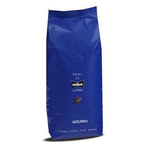 Кофе в зернах Miko Coffee Azzurro, арабика/робуста, 1 кг масло для лица miko miko mi071lwctup8