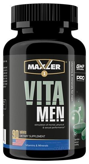 Минерально-витаминный комплекс Maxler VitaMen (90 таблеток)