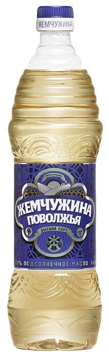 Жемчужина Поволжья Масло подсолнечное рафинированное дезодорированное