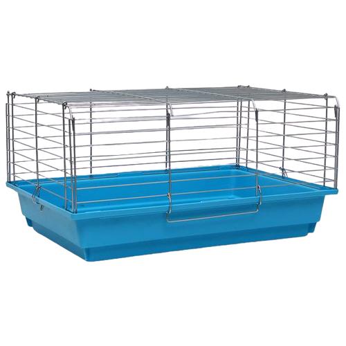 Клетка для грызунов Пижон №6 58х40х30 см голубой
