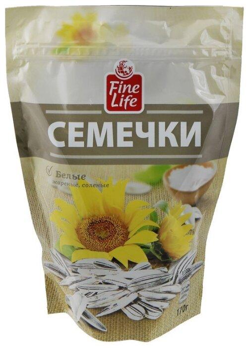 Семена подсолнечника Fine Life белые жареные соленые 170 г