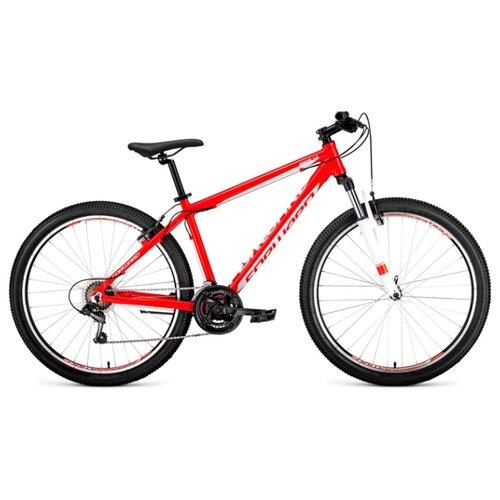 Фото - Горный (MTB) велосипед FORWARD Apache 27.5 1.0 (2020) красный/белый 17 (требует финальной сборки) горный mtb велосипед merida matts 7 20 2020 glossy purple lilac s требует финальной сборки