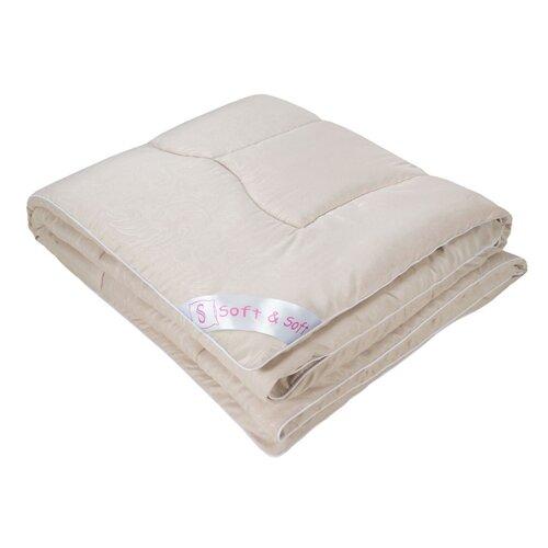 Фото - Одеяло Традиция Soft&Soft Эвкалипт 140 х 205 см микрофибра бежевый 200 гр одеяло альвитек эвкалипт традиция легкое 140 х 205 см голубой