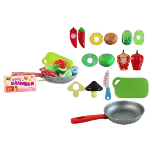 Набор продуктов с посудой Yako Моей малышке M0827 разноцветный