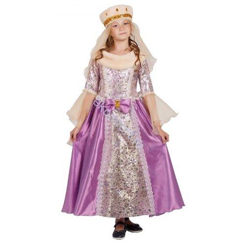 Купить Костюм Elite CLASSIC Фрейлина, сиреневый, размер 32 (128), Карнавальные костюмы