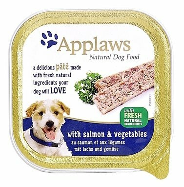 Корм для собак Applaws лосось с овощами 150г