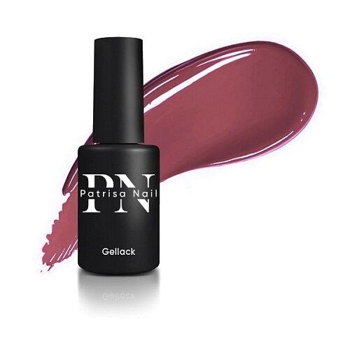 Купить Гель-лак для ногтей Patrisa Nail Axios Gel, 8 мл, №187 Кирпично-розовый