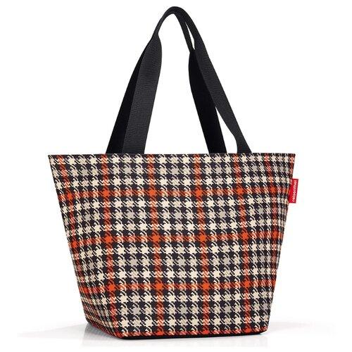 Сумка тоут reisenthel Shopper M ZS3068 glencheck red, текстиль, мультиколор