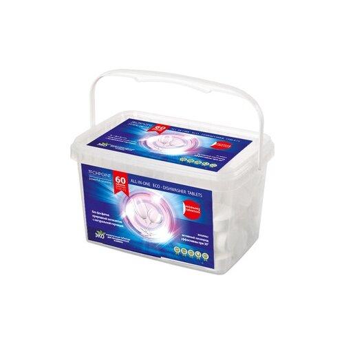 TECHPOINT All-in-one Eco-Diswasher таблетки для посудомоечной машины, 60 шт.