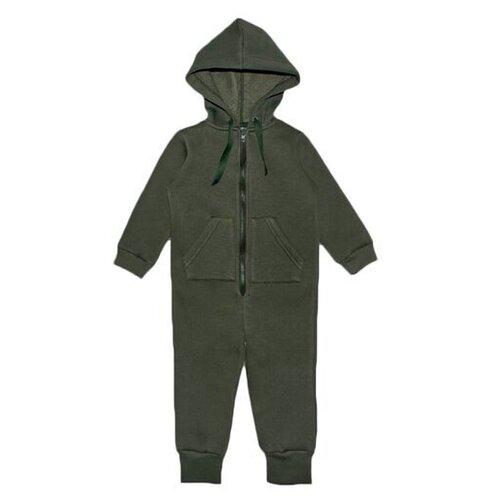 Комбинезон Веселый Малыш 351/140, размер 110, зеленый