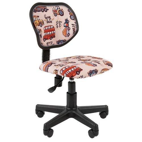 Компьютерное кресло Chairman Kids 106 детское, обивка: текстиль, цвет: автобусы компьютерное кресло chairman kids 106 детское обивка текстиль цвет автобусы