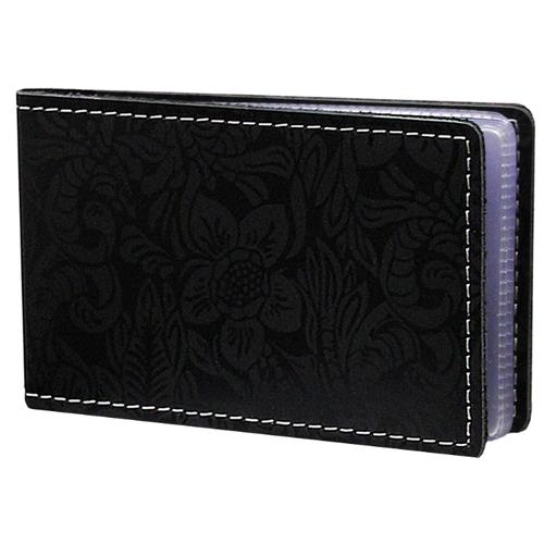 Футляр для кредитных карт и визиток кожаный ВМ-Ф аляска черный Person недорого