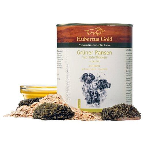 Влажный корм для собак Hubertus Gold рубец, с овсянкой 800г недорого