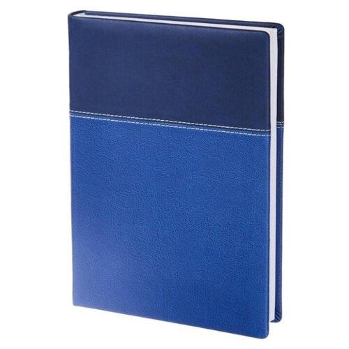 Купить Ежедневник InFolio Patchwork недатированный, искусственная кожа, А5, 160 листов, синий, Ежедневники, записные книжки